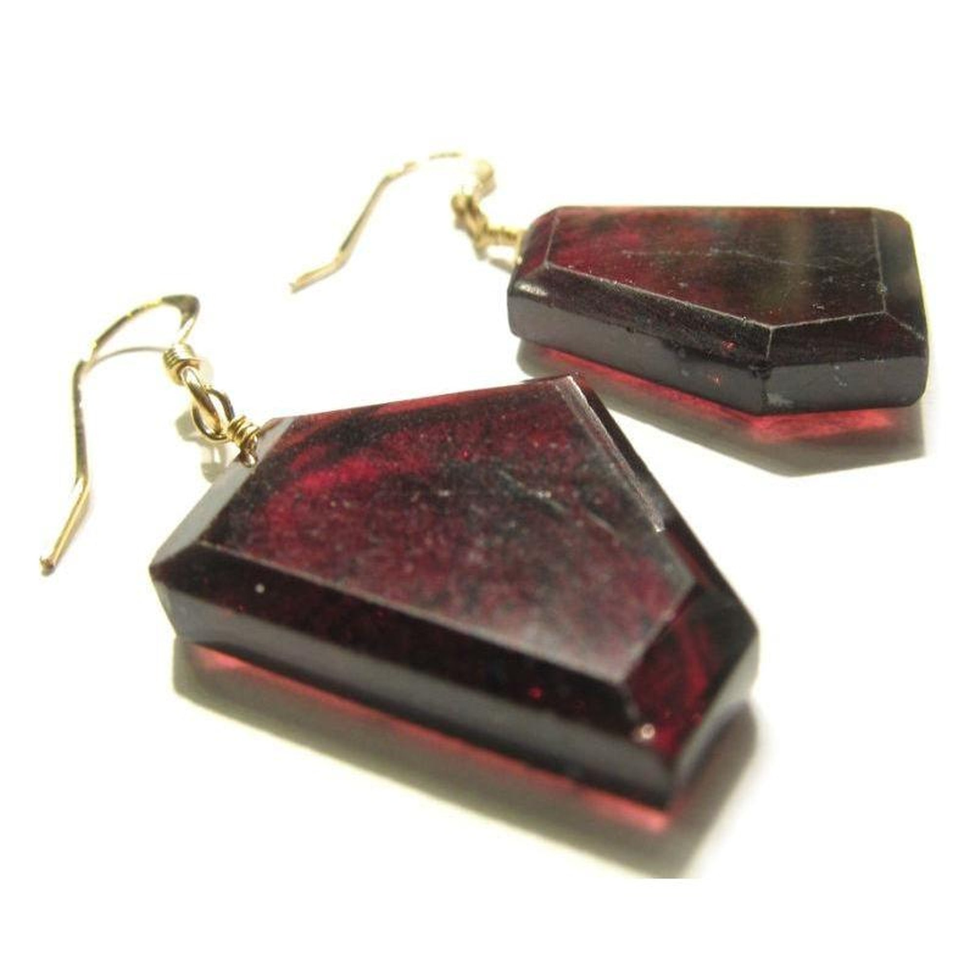 glimmer garnet image metalworks with lunar rhodolite dangle quench earrings products
