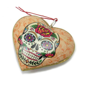 Los Novios Couple Heart Ornament