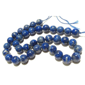 Lapis Lazuli Smooth Rounds 11mm Strand