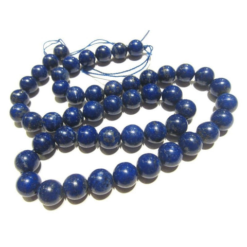 Lapis Lazuli Smooth Rounds 8mm Strand