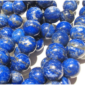 Lapis Lazuli Smooth Rounds 12mm Strand