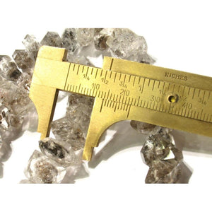 Natural Herkimer Diamond Strand
