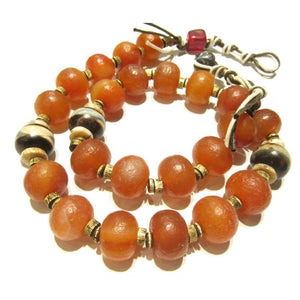 Contemporary Indian Carnelian Heirloom Necklace 1