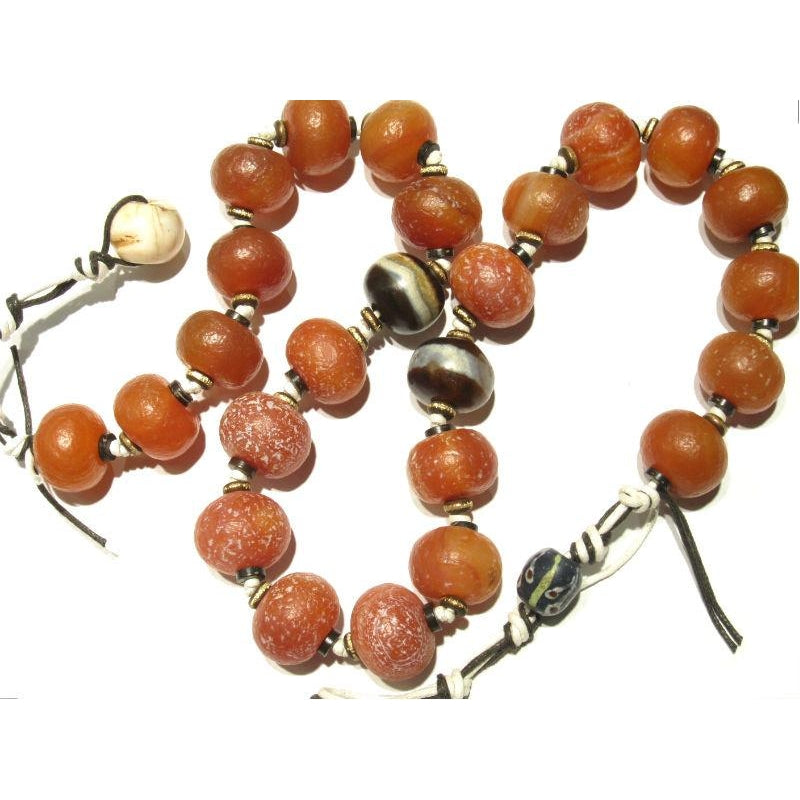 Contemporary Indian Carnelian Heirloom Necklace 3