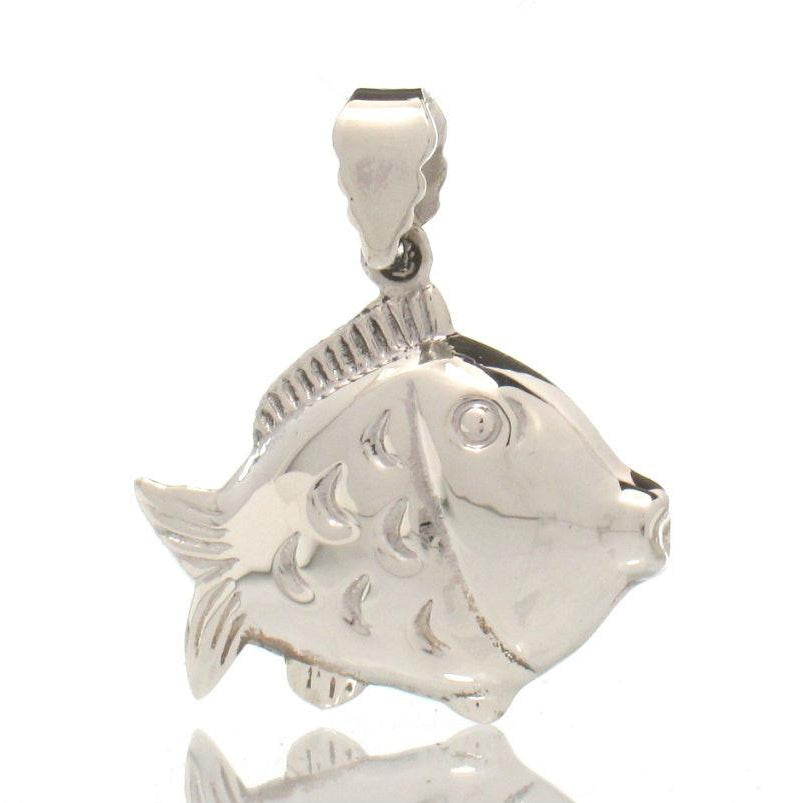 Sterling Silver Fishy Pendant