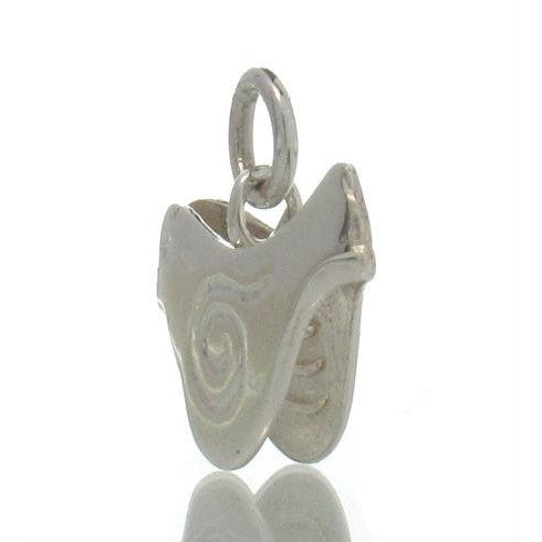 Sterling Silver 2 Sided Bird Charm