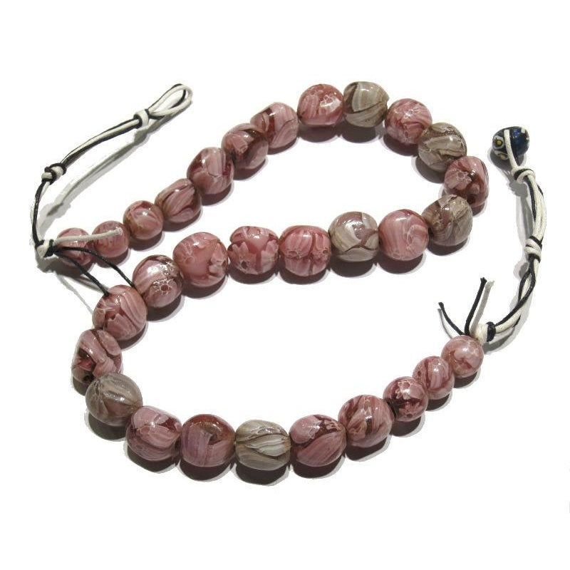 Fashion Jewelry Brave Natural Bracelet Cave Relics Stone Mineral Round Beads Buddha Thai Amulet Bangle Southeast Asia