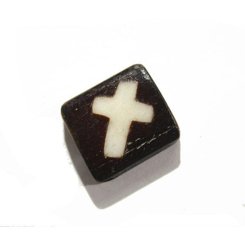Cross Cowbone Bead