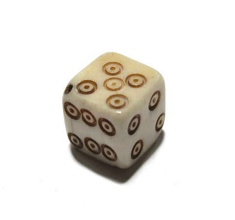 Bone Dice Bead