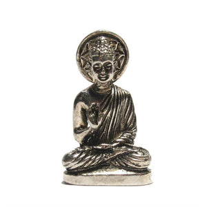 """German Silver"" Buddha Defeating Evil Pendant"