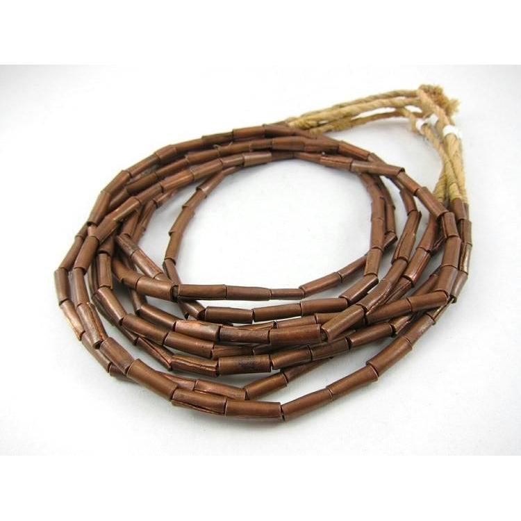 Copper Tube Bead Strand