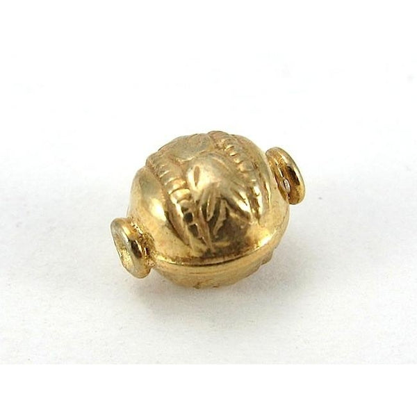 22K Gold Plated Over Sterling Silver Bead #2