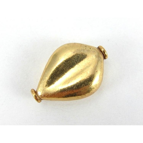 22K Gold Plated Over Sterling Silver Bead #10