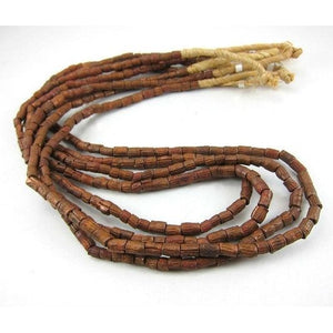 Etched Copper Bead Strand