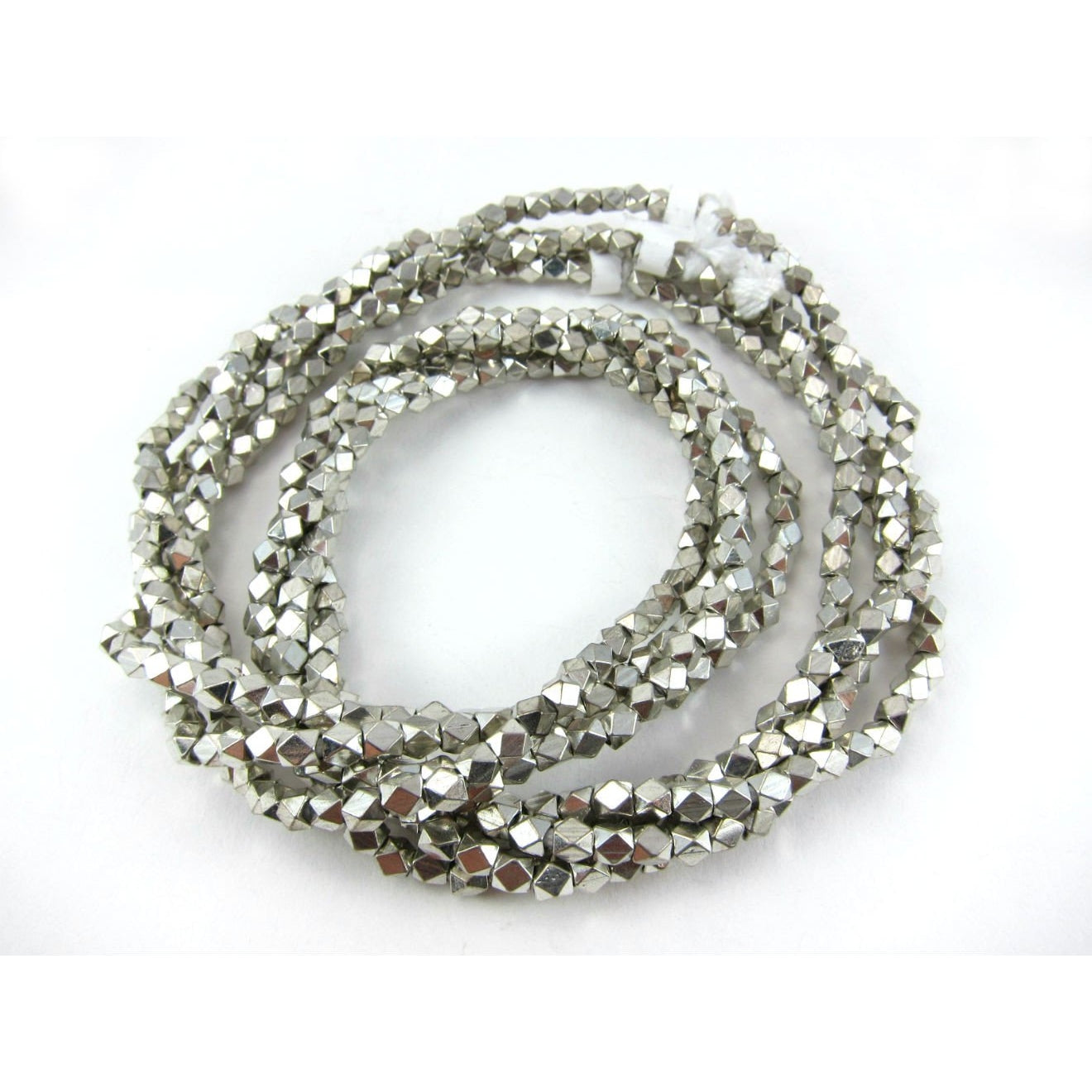 Fac. Silver Plated Beads