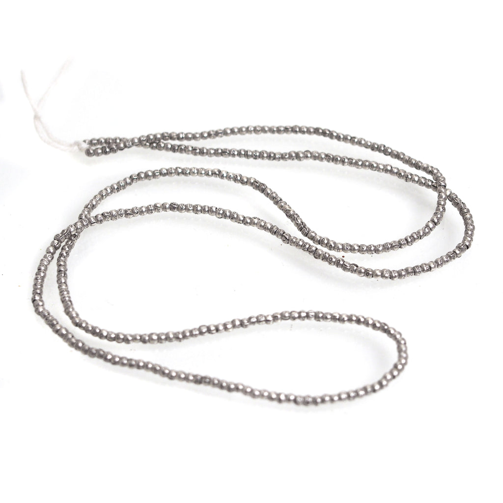 98% Pure Hill Tribe Silver 2mm Beads 31