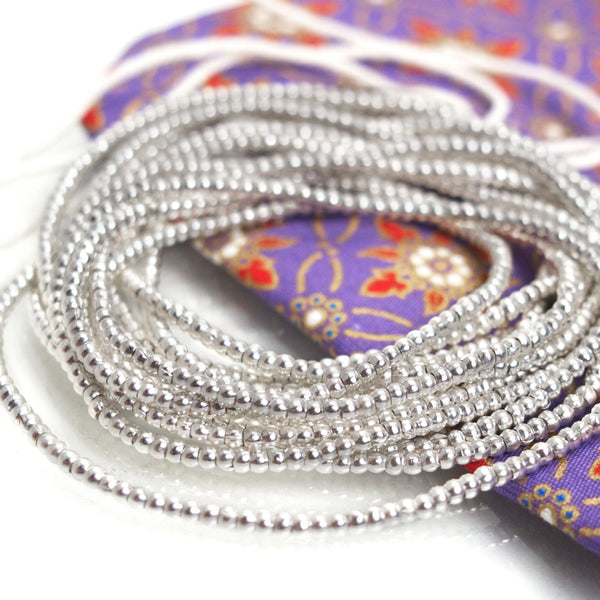 98% Pure Hill Tribe Silver 2.2mm Beads 33