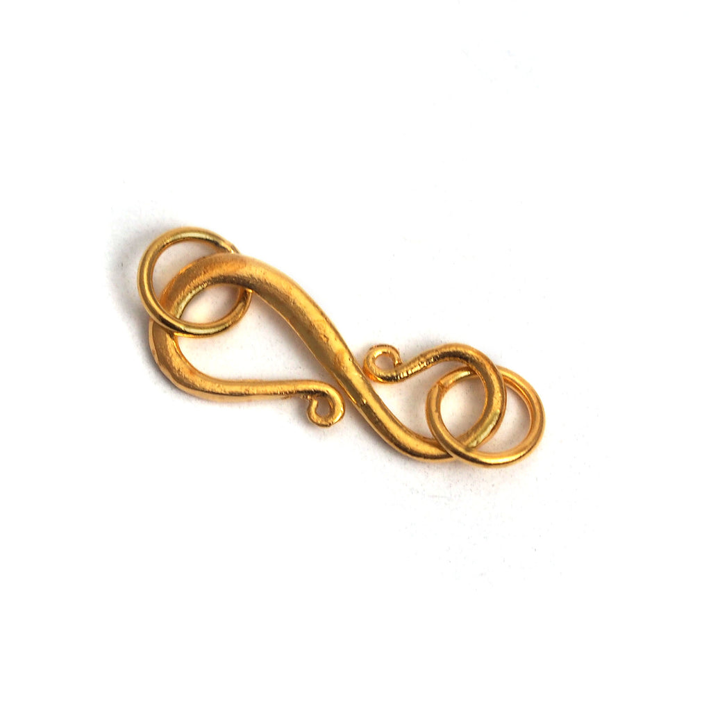 Gold Plated S-Hook