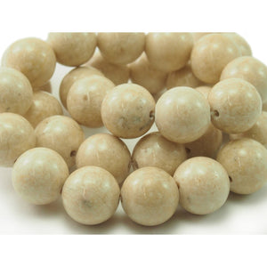 Riverstone Smooth  Rounds 12mm Strand