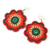 Hilltribe Crocheted Earrings