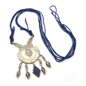 Silver Afghan Dowry Amulet