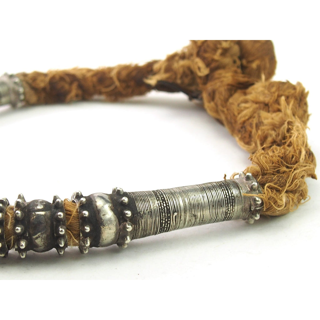Omani Tribal Silver Necklace