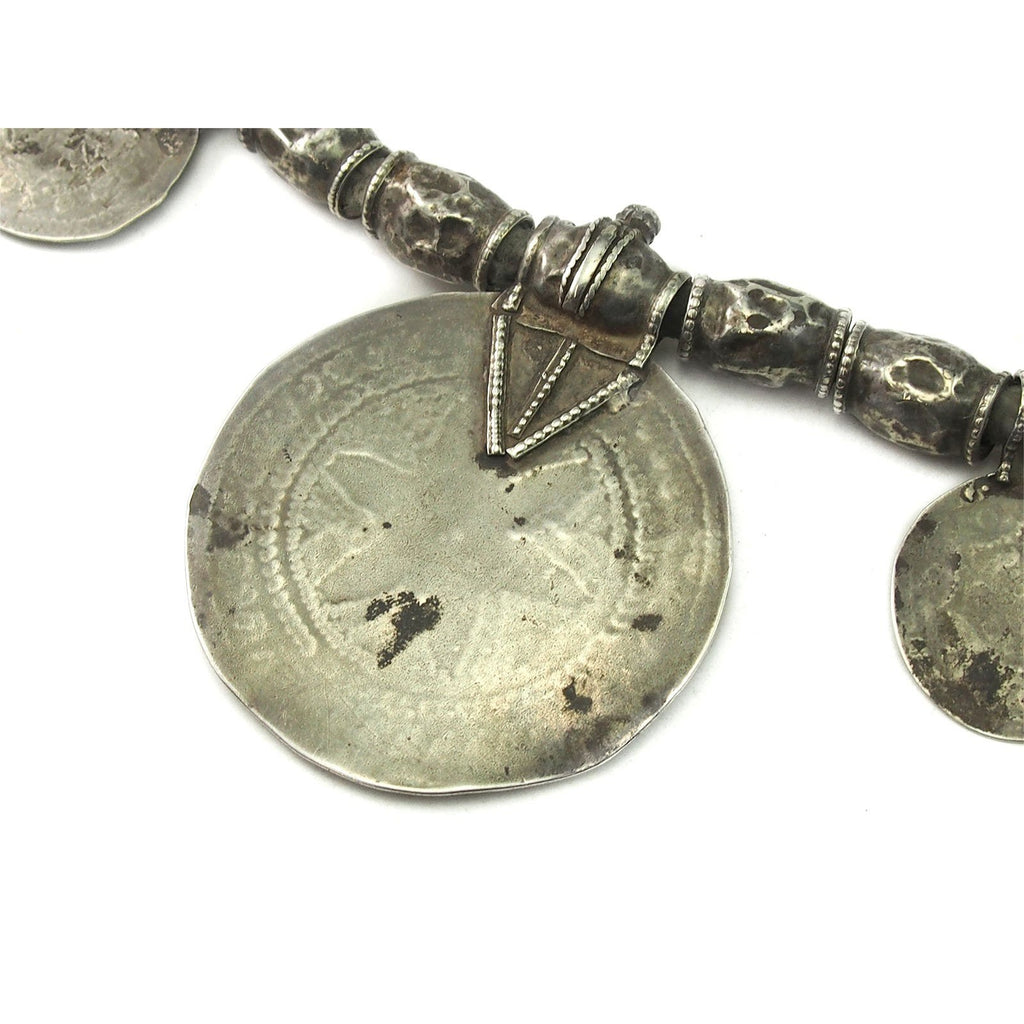 Omani Tribal Silver Somt Necklace