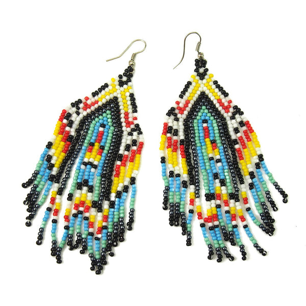 Seed Bead Fancy Earrings