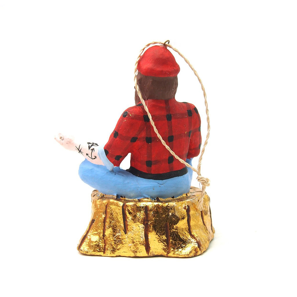 Ohm Lumberjack Ornament