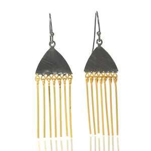Gold Vermeil over Sterling Silver Chime Earrings