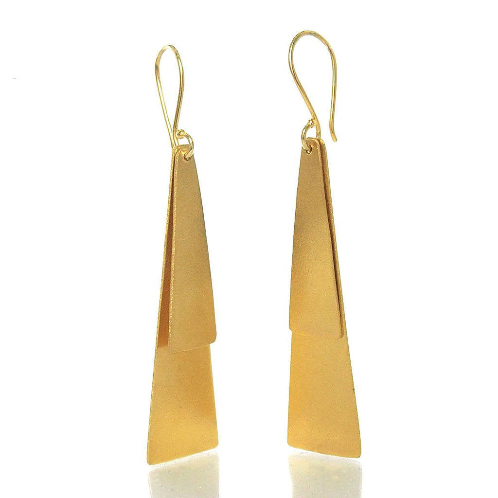 Gold Vermeil over Sterling Silver Earrings