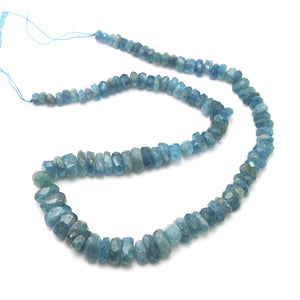Aquamarine Rough Faceted Chunks