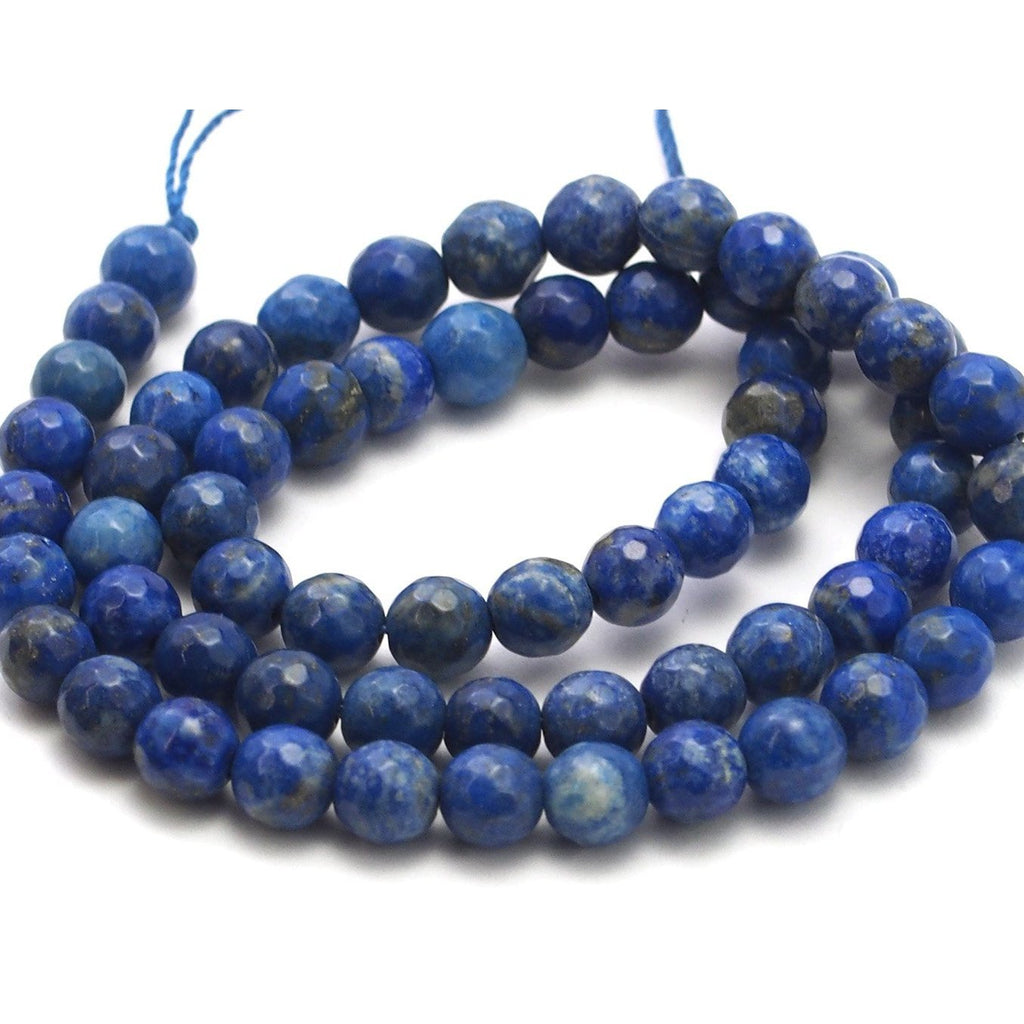 Lapis Lazuli Faceted Rounds 6mm