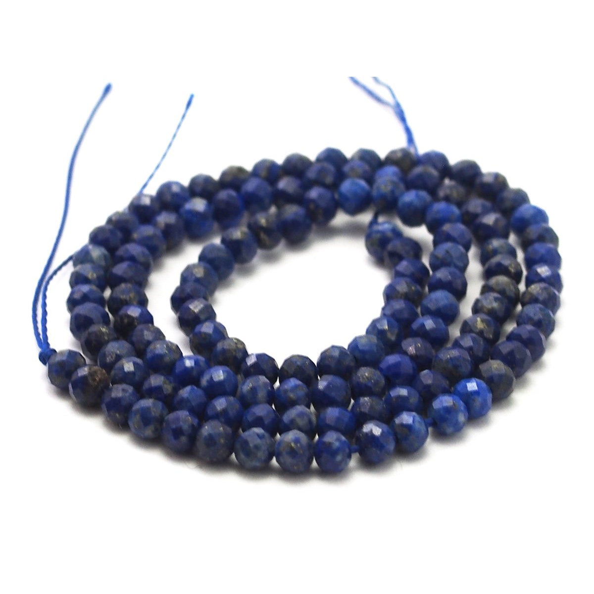 Lapis Lazuli Faceted Rounds 4mm