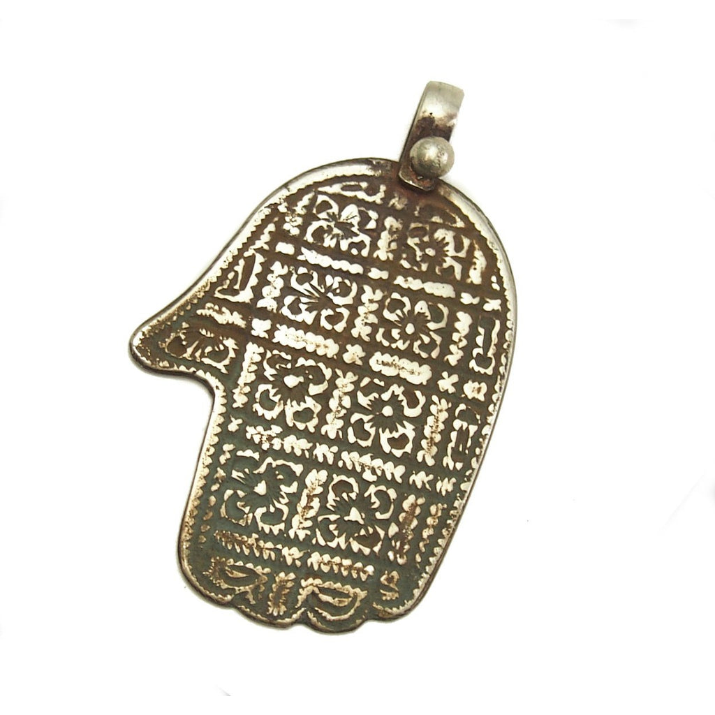 Essaouira Hamsa with Floral Pattern 1
