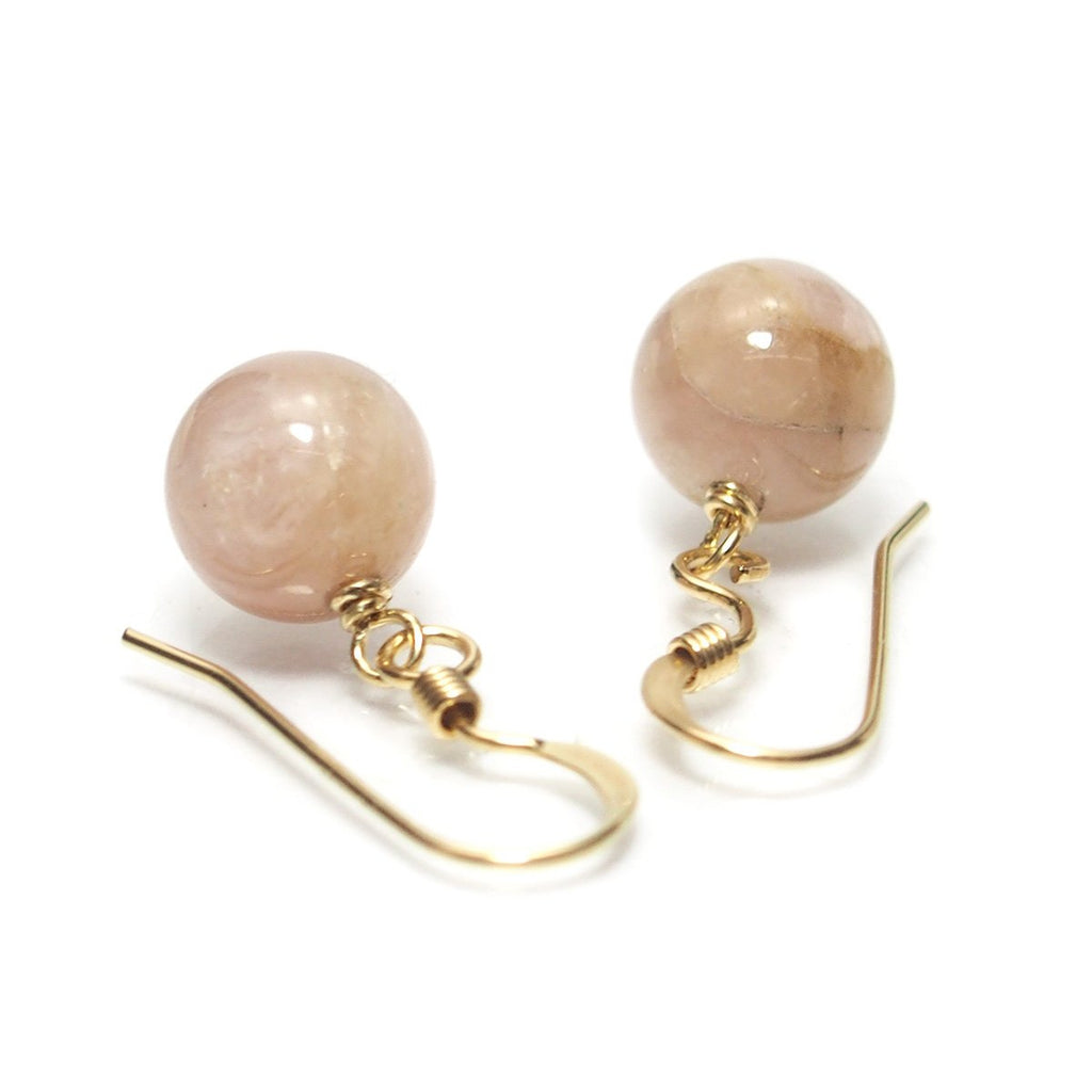 Kunzite Earrings With Gold Filled Ear Wires