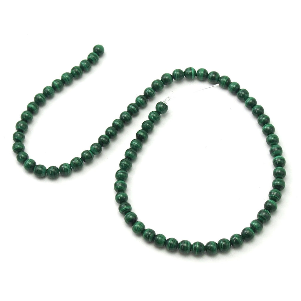 Malachite Sooth Rounds 6mm