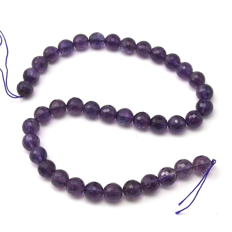 Amethyst Faceted Rounds 10mm