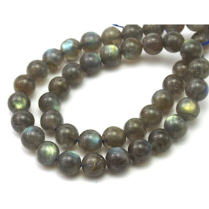 Labradorite Smooth Rounds 9mm