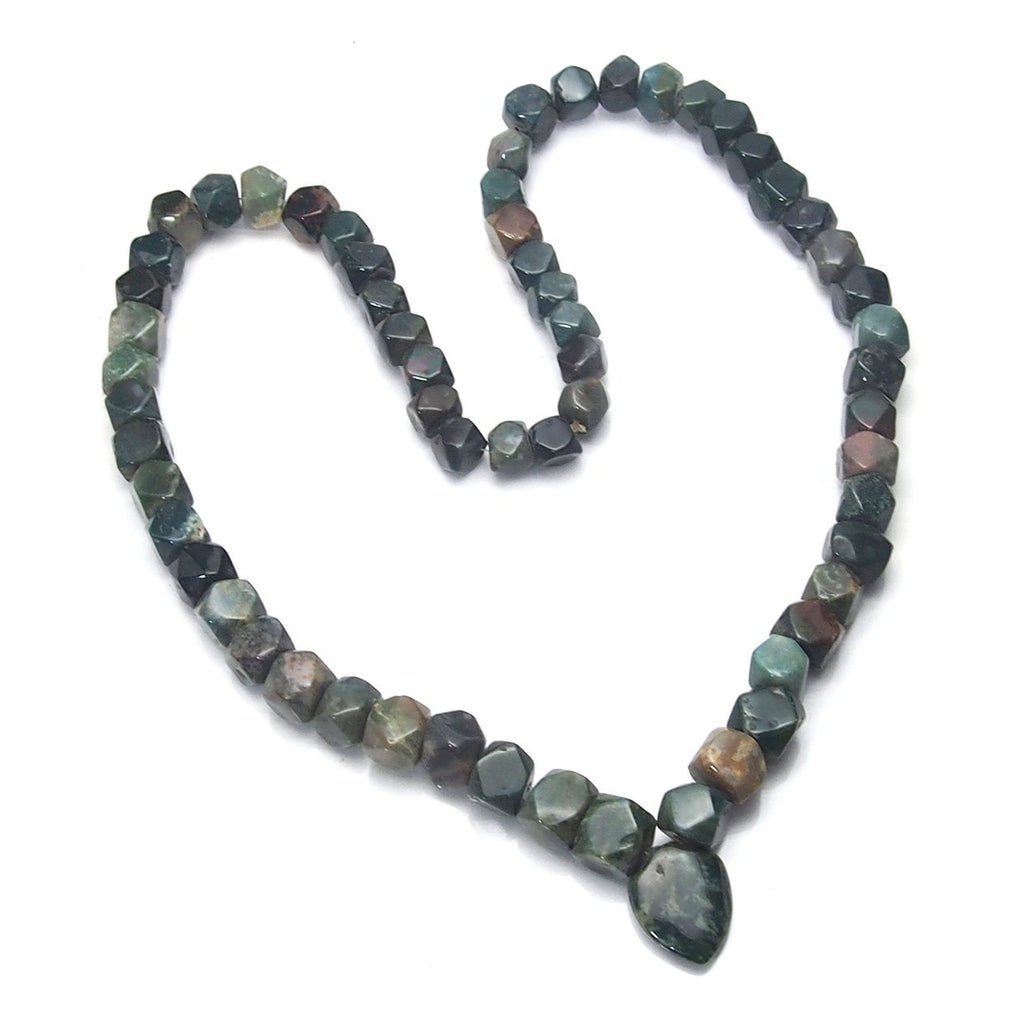 African Bloodstone Necklaces