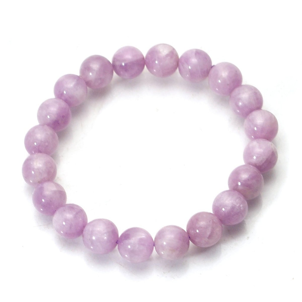 Kunzite Stretch Bracelet 9mm