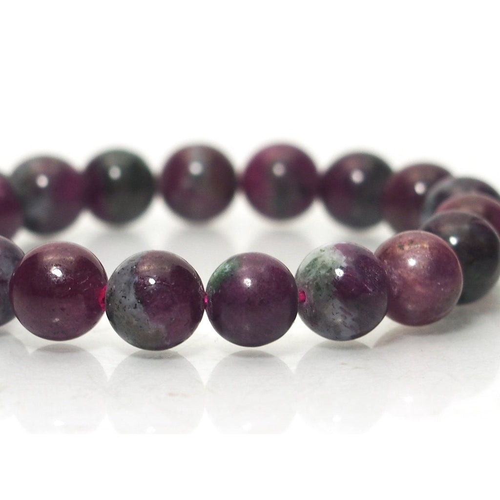 Ruby Stretch Bracelet 10mm