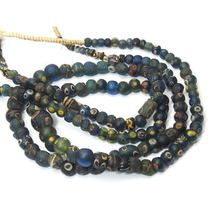2nd Century Ptolemaic Eye Bead Necklace