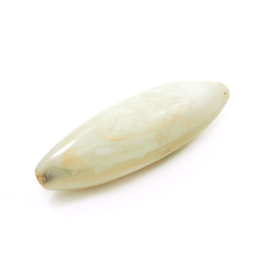 18th-19th Century White Banded Agate From Nigeria