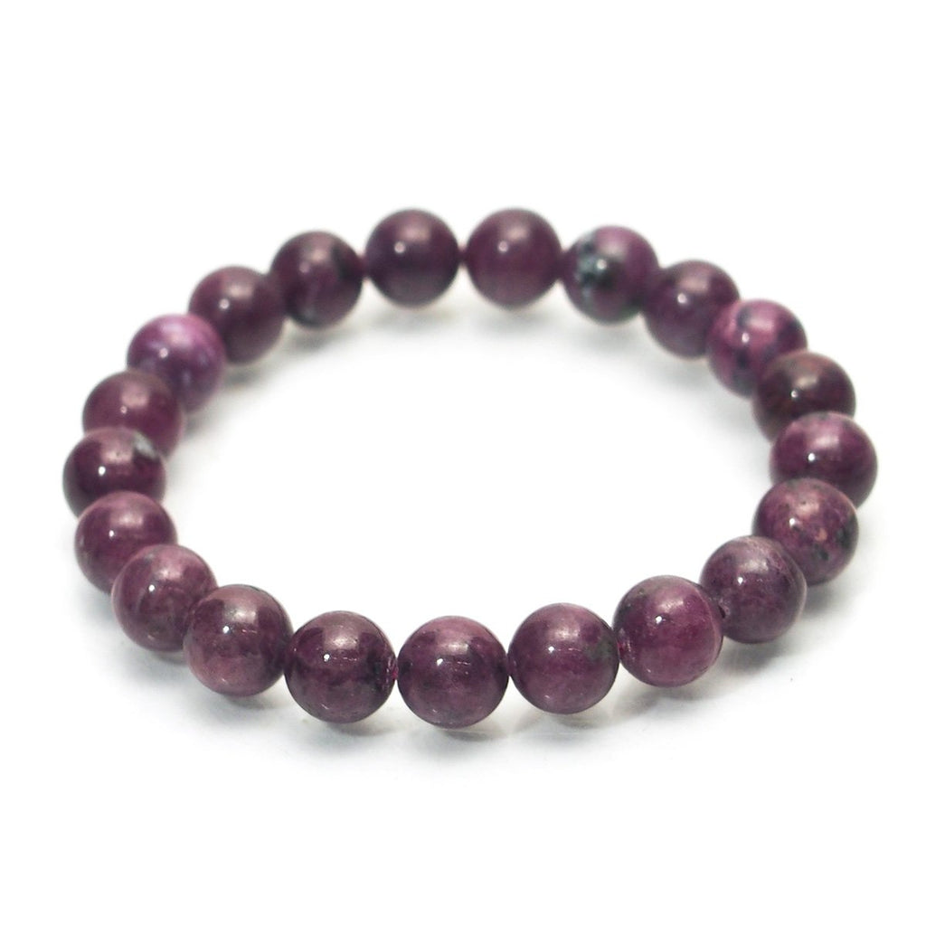 Ruby Stretch Bracelet 7mm,8mm,9mm