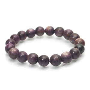 Star Ruby Stretch Bracelet 10mm