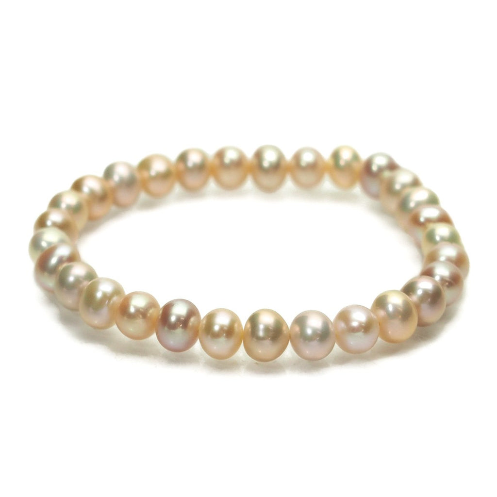 Fresh Water Pearl Stretch Bracelet
