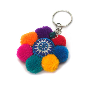 Hilltribe Bauble Keychain, B