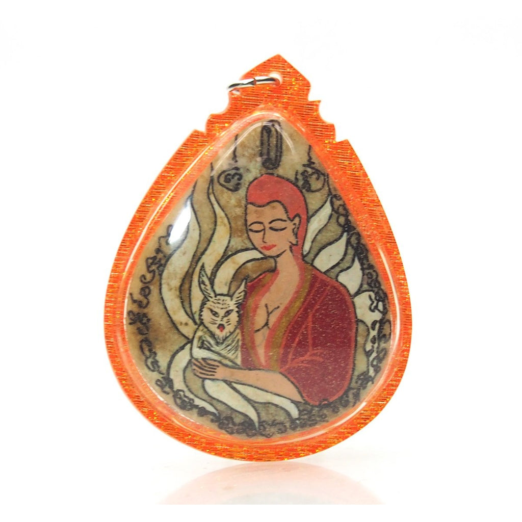 Mae Jing Jawk Gao Hang/ Nine 9 Tail Fox/ Kitsune Ghost / Spirit Amulet -14