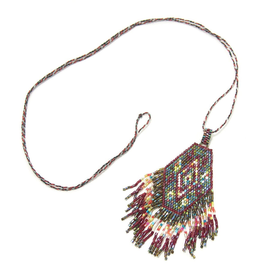 Seed Bead Necklace, A